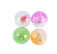 Набор игрушек д/кош (4 цветные пласт.погремушки)