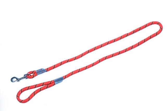 Поводок нейлоновый с металлическим зажимом, 13,0мм х1,2м, фото 2