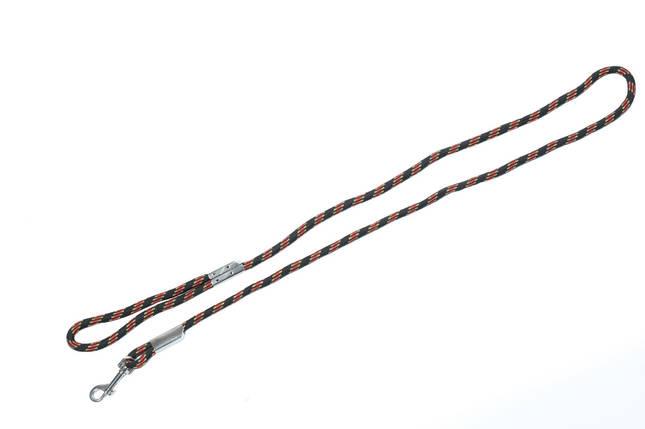 Поводок нейлоновый с металлическим зажимом, 13,0мм х1,5м, фото 2