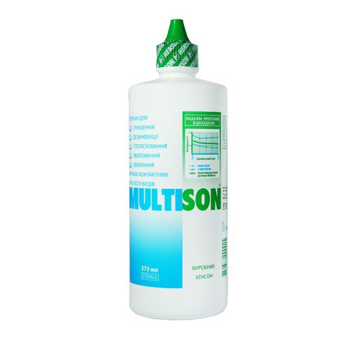 Раствор для контактных линз Multison 240ml