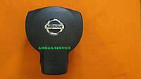 Накладка, заглушка на подушку безопасности, имитация Airbag, крышка в руль на Nissan Navara