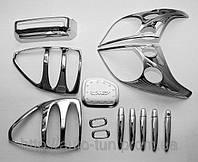 Хромированные накладки для Toyota Land Cruiser Prado 120 (2003-...)