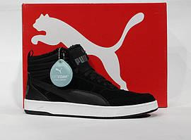 Шикарные зимние замшевые ботиночки Puma Rebound Street, Оригинал
