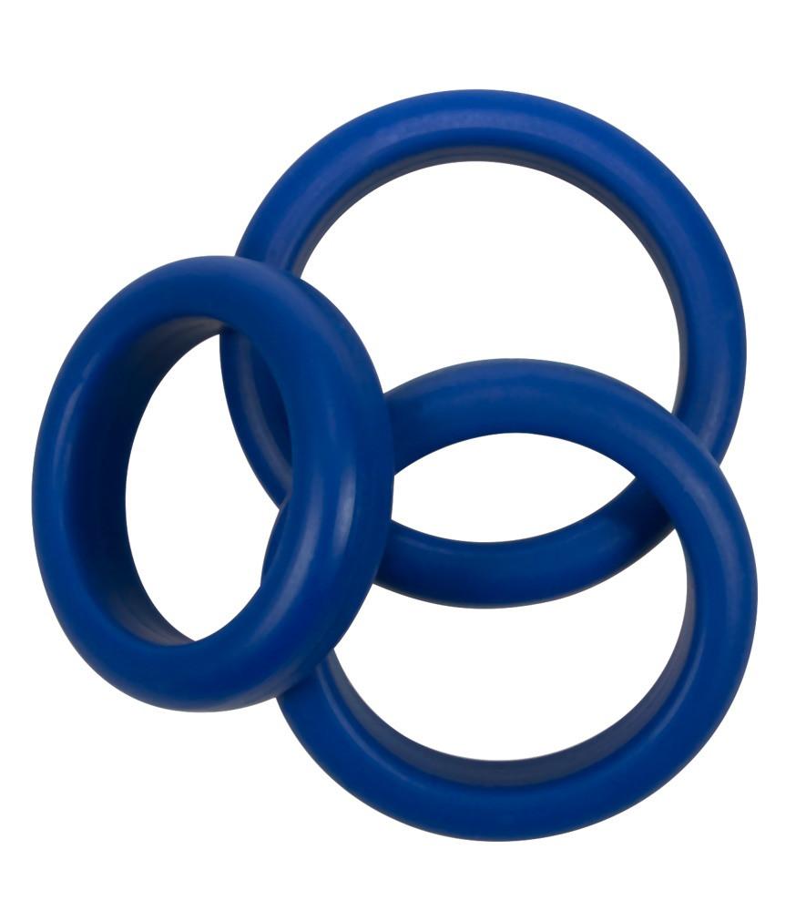 Кольца Mate (синие)