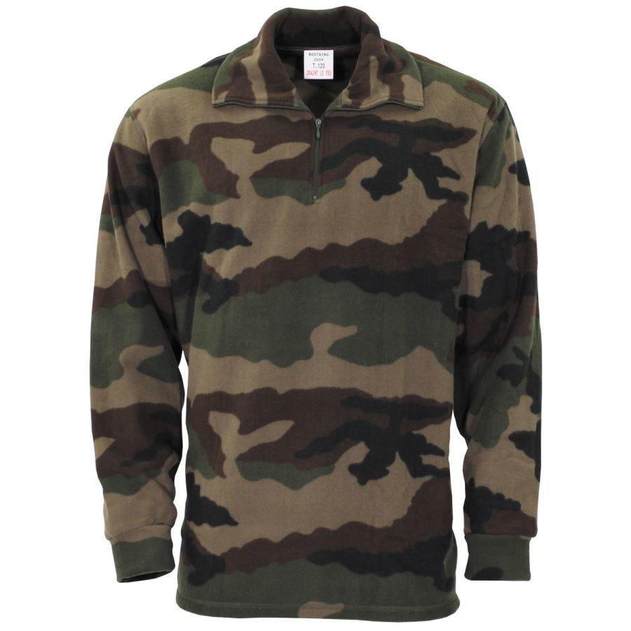 Рубашка термофлисовая армейская оригинал ВС Франции новая - CCE