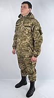 Костюм военный камуфляжный общевойсковой нового образца с капюшоном