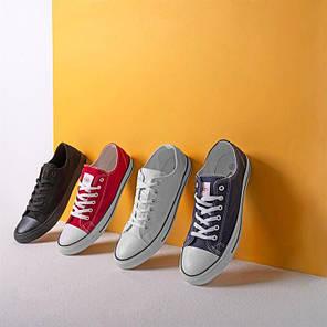 Мокасины Lee Cooper Canvas Lo Shoes Mens, фото 2