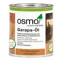 Цветная полупрозрачная краска для террас Osmo Terrassen-Öle 016 тёмное бангкирай 0,125 л