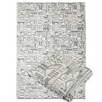 Одеяло акрил/шерсть полуторное 140х205