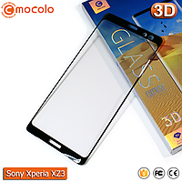 Захисне скло Mocolo Sony Xperia XZ3 (Black) 3D, фото 1
