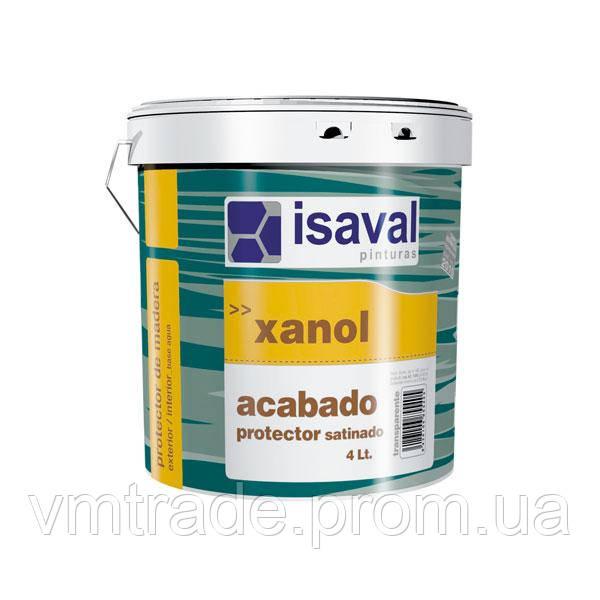Лак акриловый открытопористый, Изаваль Ксанол Акабадо (Isaval, Xanol acabado) 2,5 л