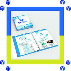 Изготовление каталогов на металлической пружине Днепропетровск