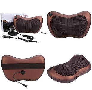 Роликовый массажер для спины и шеи Massage Pillow GHM-8028