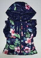 Пальто-плащи, куртки, ветровки демисезонные для девочек и мальчиков