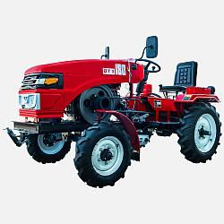 Міні-трактор ДТЗ 180 з блокуванням диференціалу потужністю 18 л. с.