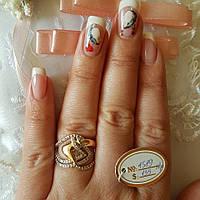 Кольцо из медзолота