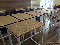 Стол Loft L-20, 700*500, ясень или дуб, мебель лофт