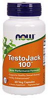 Now TestoJack 100 60 veg caps