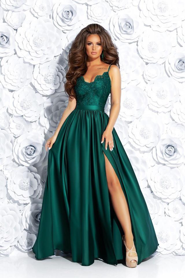 6e8ee73976b Вечернее платье длинное с дорогим кружевом  продажа