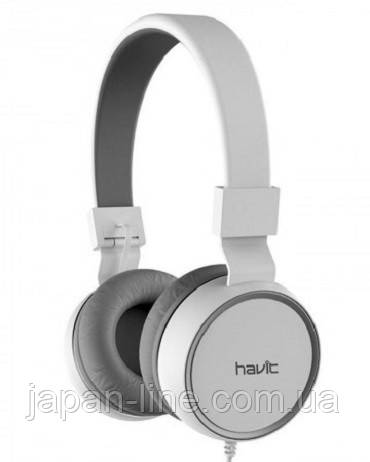 Наушники HAVIT HV-H2216D white gray, фото 1