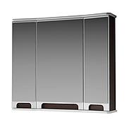 Зеркальный шкаф для ванной комнаты Венеция Вз 1-80в ( венге ) ВанЛанд