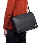 Knomo Kinsale Slim сумка для ноутбука 13' Black, фото 5