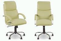 Кресло кожаное для руководителя  «Nadir steel chrome» SP