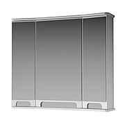 Зеркальный шкаф для ванной комнаты Венеция Вз 1-80 ( белое ) ВанЛанд