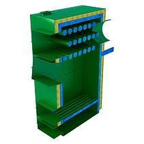 Стальной котел длительного горения на дровах «САН» РТ мощностью 50 кВт , фото 3