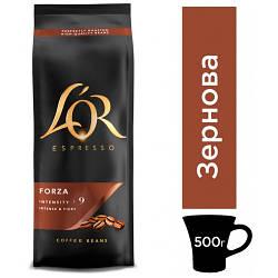 Кофе в зернах L'OR Espresso Forza 500 г.