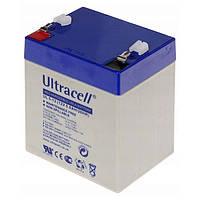 Аккумуляторная батарея Ultracell 12V/5AH-UL ABCV Akumulator UL 5-12