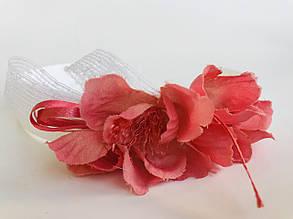 Аксессуары Обруч с розовыми объемными цветам, G0878/FR BABY A, Италия