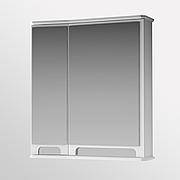 Зеркальный шкаф для ванной комнаты Венеция Вз 1-65л ( белое, левое ) ВанЛанд