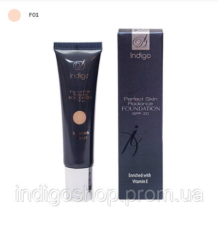 Тональный крем Perfect Skin Radiance foundation IndigoDi 01