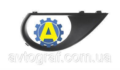Рамка противотуманной фары левая и правая на Ауди Q7 (Audi Q7) 2005-2015