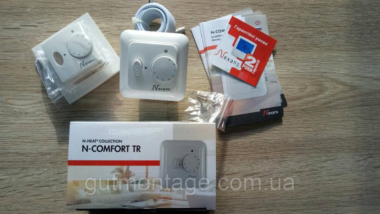 Регулятор для теплого пола Nexans N-Comfort TR. Установка терморегуляторов для теплых полов в Одессе.