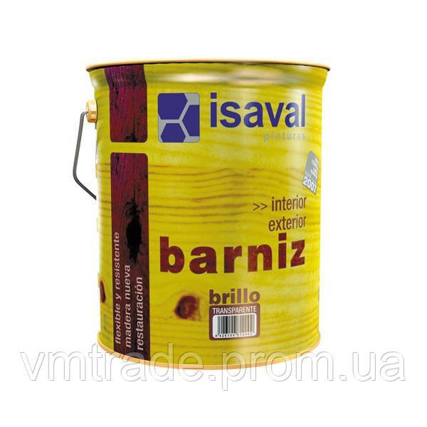 Лак универсальный, для дерева,Изаваль Барнис (Isaval, Barniz) 4л