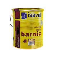 Лак алкидный синтетический, Изаваль (Isaval, Barniz) 4л
