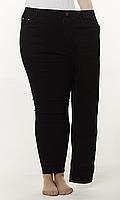 b4ad21455555 Модные женские джинсы лосины на резинке большого размера 50-58 размера  черные