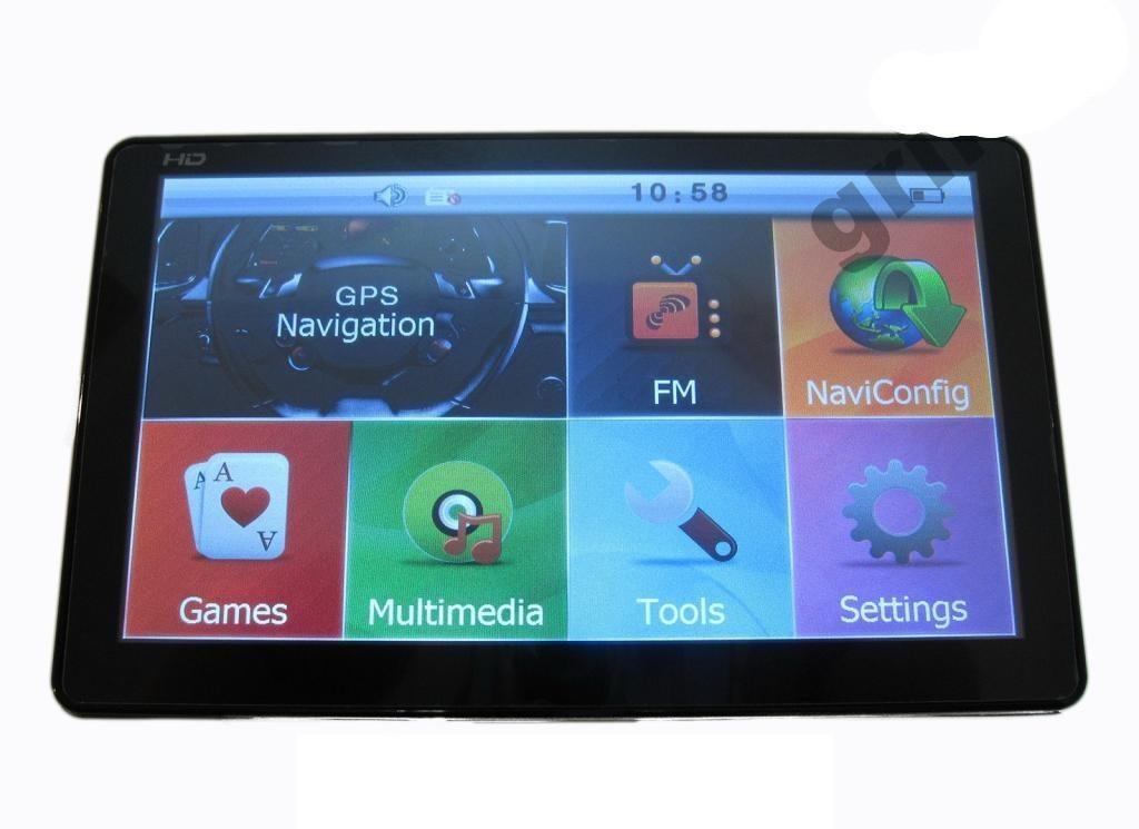 "GPS навигатор Pioneer 7"" 7006 HD 4gb Cortex-A7 800mHz"