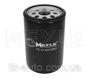 Фильтр масляный MAN L2000, G90, M2000, M90, BUS, NEOPLAN ( MEYLE ) 12-14 322 0003