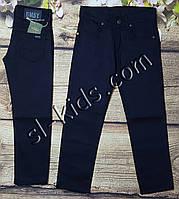 Яркие штаны для мальчика 7-11 лет (темно синие) опт пр.Турция