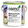 Защитное масло-лазурь для древесины Osmo Holzschutz Öl-Lasur 701 бесцветное матовое 0,75 л