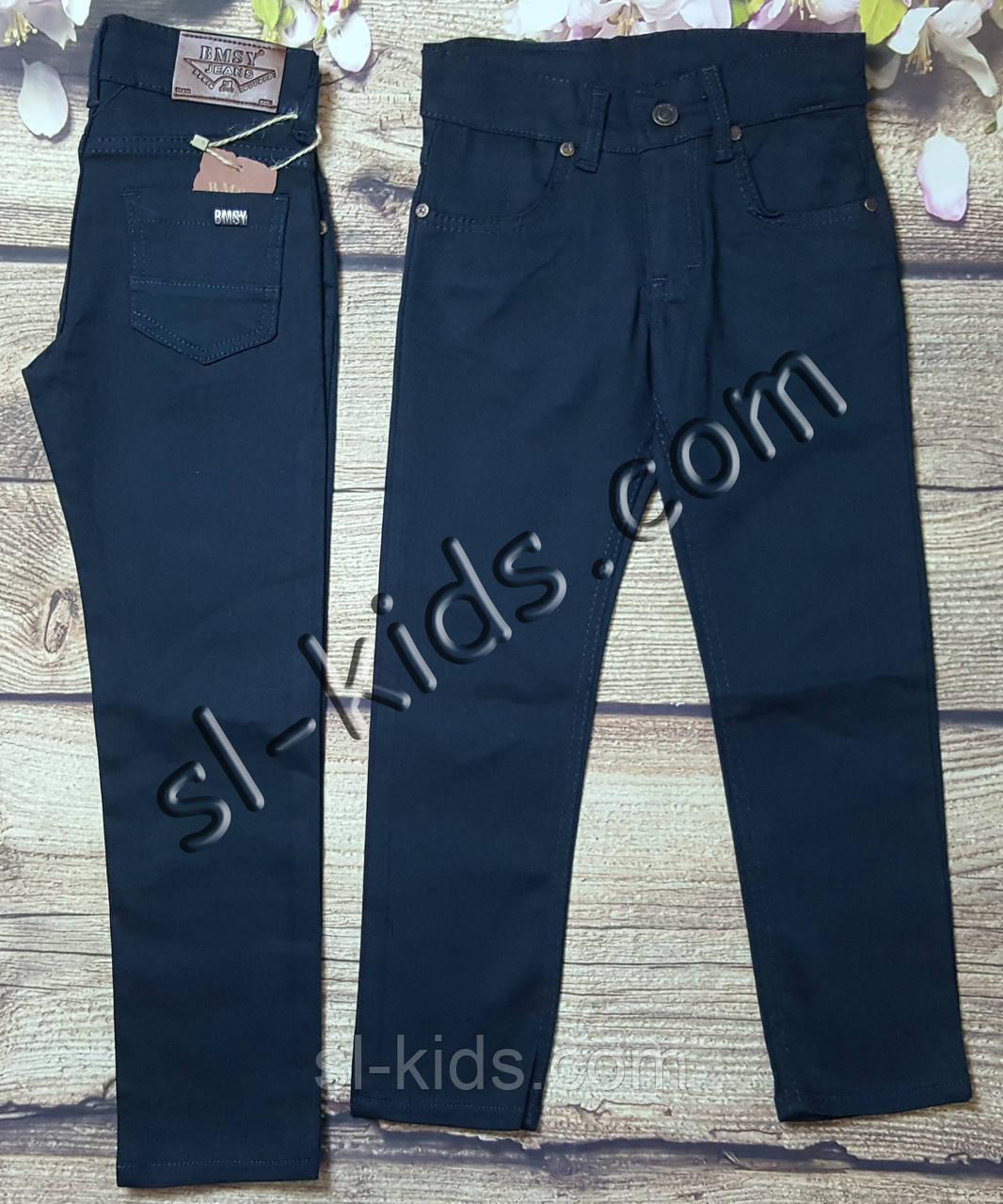 Яскраві штани для хлопчика 7-11 років (петроль) опт пр. Туреччина
