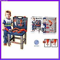Игровой набор инструментов 008-22 чемодан -стол, фото 1