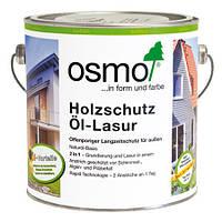Защитное масло-лазурь для древесины Osmo Holzschutz Öl-Lasur 907 серый кварц 0,75 л, фото 1