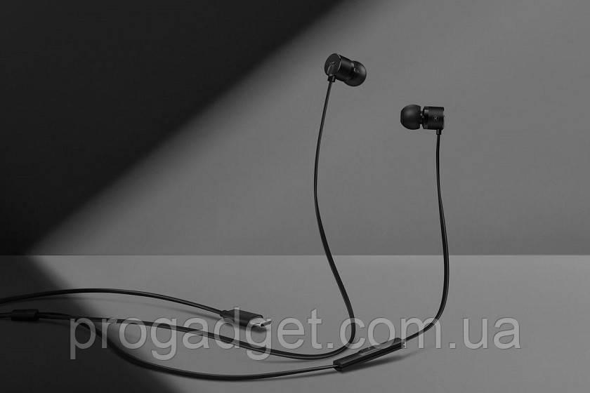 OnePlus 2T Black Type-C Проводные вакуумные Hi Fi наушники со встроенным ЦАП, шумоподавление, гарнитура.