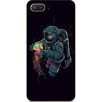 Силиконовый чехол бампер для Iphone 8 с рисунком Медуза