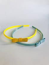 Аксессуары Обруч обруч голубой и желтый с бантиком 131BGLN003 BRUMS, Италия