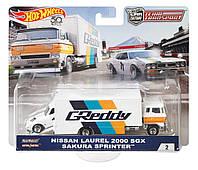 Коллекционные  модели Hot Wheels Nissan Laurel 2000 и Sakura Sprinter, фото 1